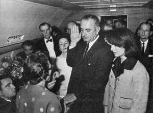לינדון ג'ונסון רצח קנדי