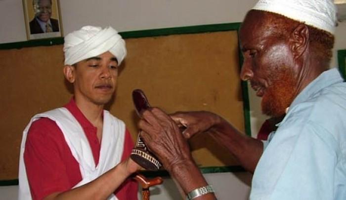 אובמה מוסלמי