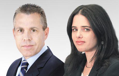 מותר לפעילי שמאל לרגל עבור מנגונני הבטחון הפלסטינים ,כך הבנתם מדברי השרה שקד, נכון?