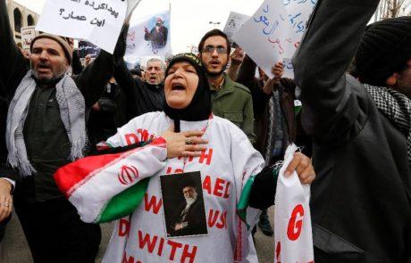 ממשלת אירן ביצעה פשעים נגד האנושות