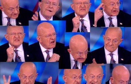 ספיי-גייט: ראש המודיעין הלאומי בממשל אובמה אישר שהתבצע ׳ריגול׳ בתוך קמפיין טראמפ