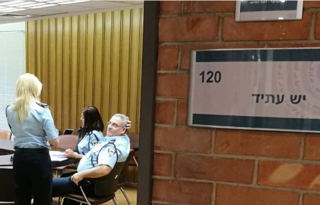 ה׳חוקרת׳ יעל גרמן מאיימת על דוד אמסלם:  ׳בקרוב גם אתה תמצא את עצמך, בחדר החקירות׳