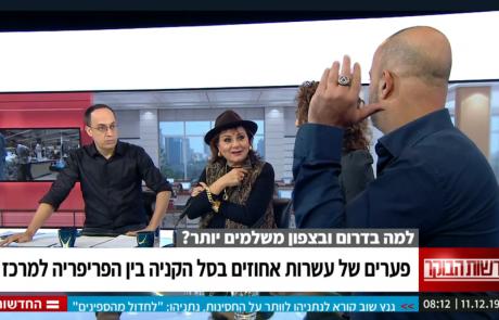 אייל  רביד מבעלי רשת ויקטורי הופיע לשידור עם טבעת של בונה חופשי