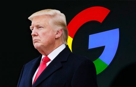 טראמפ יוצא על תוצאות החיפוש החד״שות של גוגל