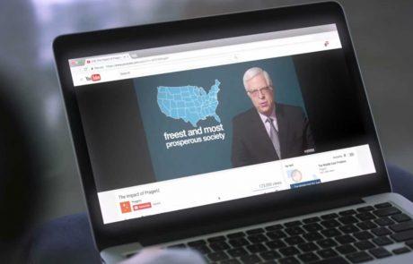 הרשתות החברתיות בפניקה: מעל מיליארד צפיות לסרטוני ׳אוניברסיטת פרגר׳ השמרנית