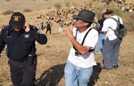 בדואי מהבקעה מספר כיצד פעילי שמאל מאיימים עליו ב׳זובור וגזנגה׳