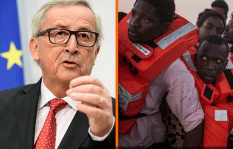 נשיא הנציבות האירופית: בלי מיליוני מהגרים אפריקאים, אירופה אבודה
