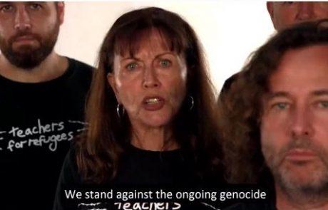 פעילת זכויות המסתנן משתפת סרטון שטנה אנטישמי המאשים את ישראל ברצח עם וקורא להשמדתה