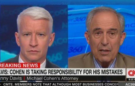 העו״ד של מייקל כהן הודה שהוא היה המקור ה׳אנונימי׳ של cnn על הפגישה עם הרוסים במגדל טראמפ, והודה ששיקר בנידון