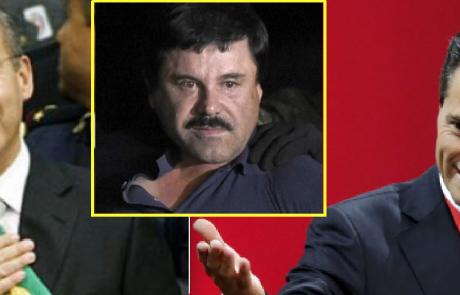 נשיאי מקסיקו מכחישים קבלת שוחד מברון הסמים ׳אל צ׳אפו׳, ראש קרטל הסמים מהגדולים בעולם