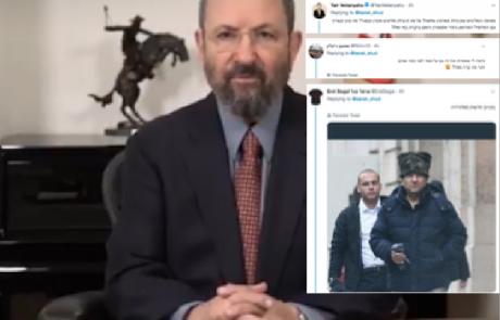 מתקפת פתע על ברק בטוויטר, הפעם מצד עיתונאים וטרול די ידוע