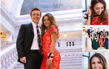 מה קרה כשנערה אמריקאית חייכנית העלתה לטוויטר צילום שלה בשמלת נשף עם הדפס סיני?