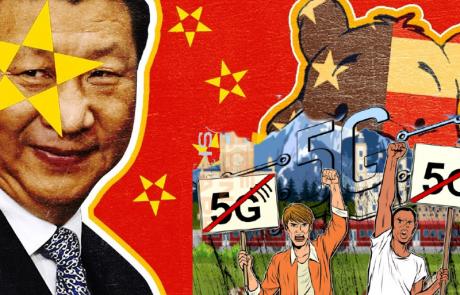 משחקי ה-5G: הוירוס הסיני