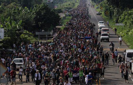עדכון ׳מהגרי׳ סורוס: 7,000 פלשו למקסיקו וועושים דרכם לארה״ב