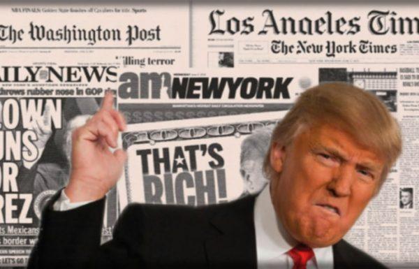 התקשורת הממסדית כולה נגד טראמפ אחד – טראמפ אחד נגד התקשורת הממסדית כולה. מי צודק?
