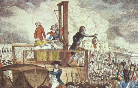 הנאורים שביטלו בצרפת המהפכנית את חזקת החפות: היעקובינים, תחת הנהגתו של רובספייר