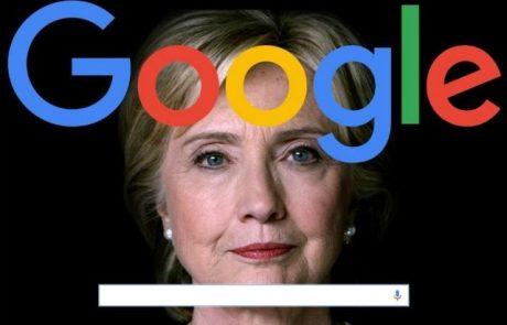 ׳תרומה שקטה׳: גוגל התערבה בבחירות 2016 לטובת הילארי קלינטון