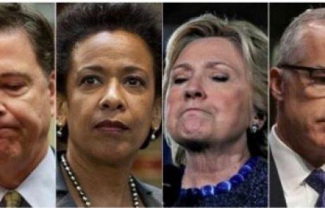 פורסמו תזכירי ראש ה-FBI המודח קומי – טראמפ: הוכח שאין קנוניה רוסית ואין שיבוש חקירה