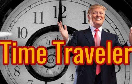 האם זכינו להוכחה הטובה ביותר למסע בזמן?