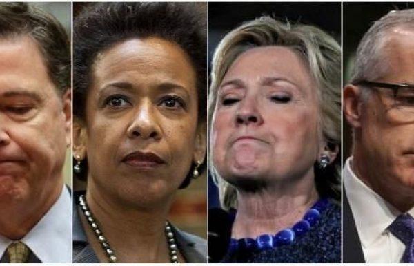 הדו״ח החדש של המבקר במחלקת המשפטים האמריקנית חושף עוד מהשחיתות של הFBI וממשל אובמה בזמן הבחירות